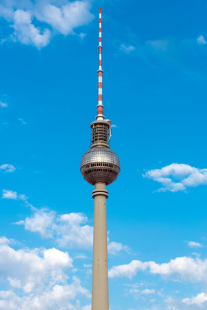 The famous TV Tower in Berlin, Germany Editorial