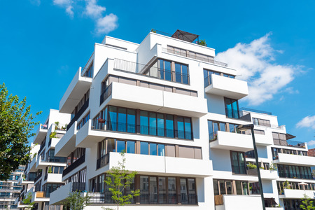 property berlin: New white Townhouses lakes in Berlin, Germany
