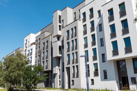 property berlin: New block of apartments lakes in Berlin, Germany