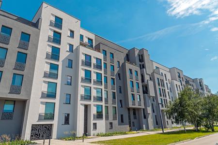 Modern block of flats lakes in Berlin, Germany Reklamní fotografie