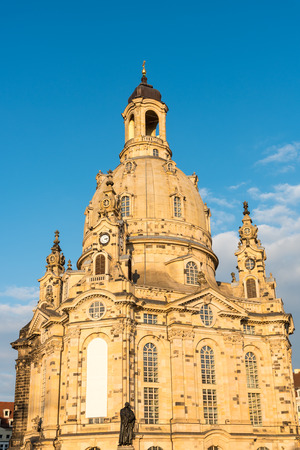 The restored Church of our Lady in Dresden, Germany