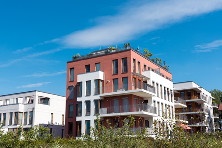 townhouses: Modern townhouses lakes in Berlin, Germany