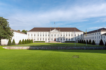bellevue: The Bellevue castle in Berlin, Germany Editorial