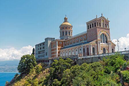 The pilgrimage Sanctuary of Tindari in Sicily, Italy