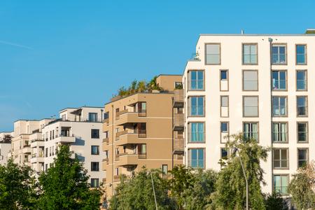 New housing area seen in Berlin, Germany
