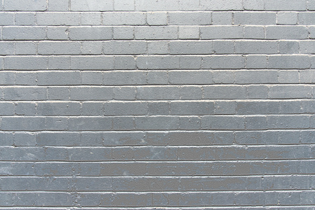 Background from a brick wall painted in silver Stock Photo