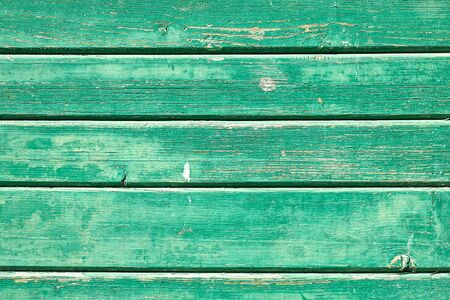Background from a green board wall