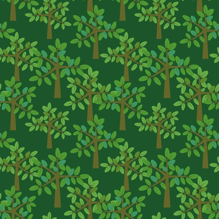Seamless park pattern Stock Vector - 13942904