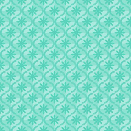 Seamless blue ornamental pattern Stock Vector - 13942900