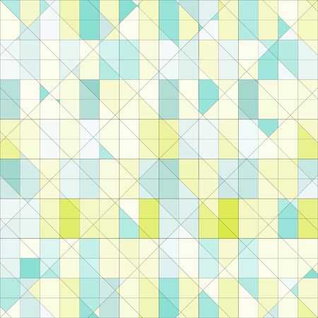 pastel colored: Abstract geometric pattern pastel colored