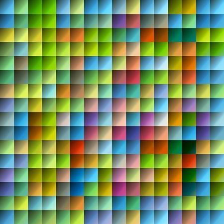 Mosaico multicolor patr�n con la superficie brillante