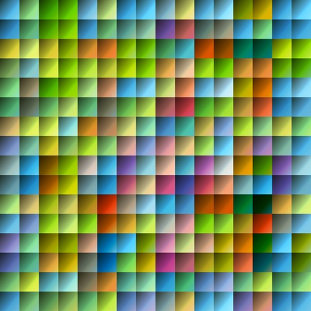 Tile multicolored pattern with glossy surface