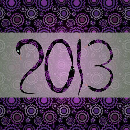 2013 greeting card Stock Photo - 15028277