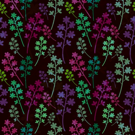Multicolored seamless pattern with overlay Vector