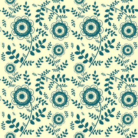 Seamless floral graphic pattern Stock Vector - 16122716