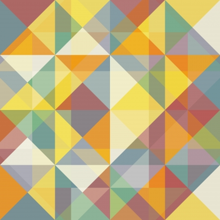 Geometric multicolored abstract background with triangles Stock Vector - 16122572