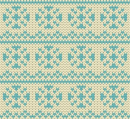 Snow drops seamless knitting pattern Stock Vector - 17088433