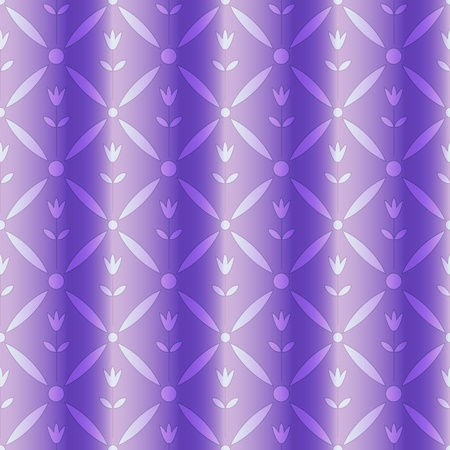 Curtain imitation with floral pattern Vector