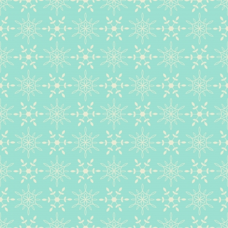 Seamless snow drops pattern light blue color Stock Vector - 17142029