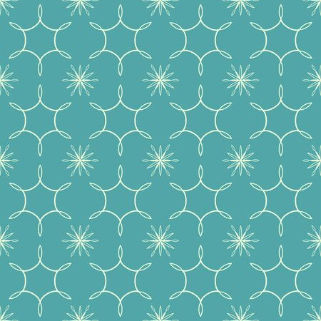 Repeating blue decorative abstract pattern Stock Vector - 18730039