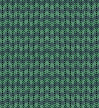 Seamless knit dark blue pattern Vector
