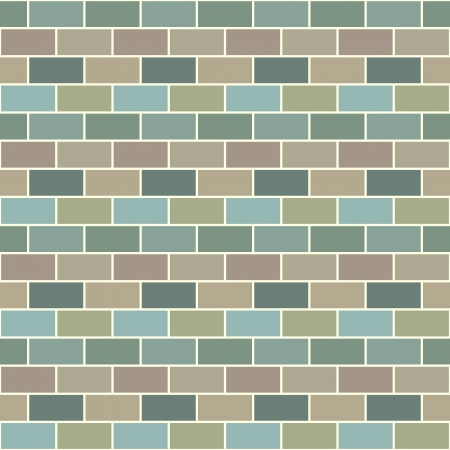Bricks background multicolored Stock Vector - 21026478