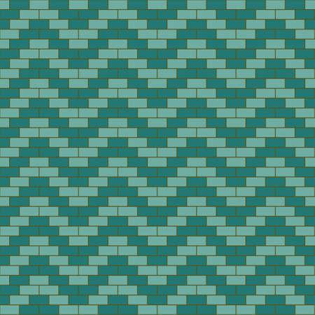 Blue wavy bricks seamless pattern Stock Vector - 21026625