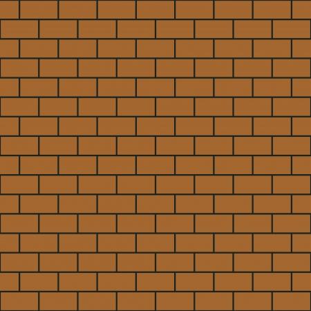 Modelo simple muro de ladrillo sin fisuras