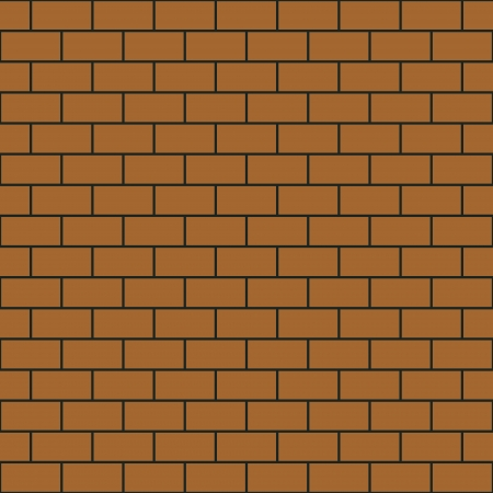 Seamless pattern simple brick wall photo