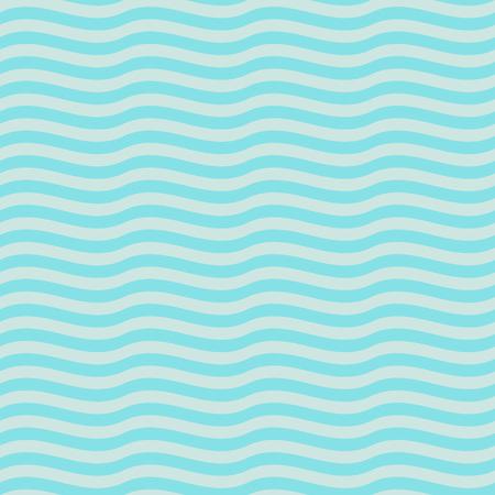 Seamless decorative abstract wavy pattern