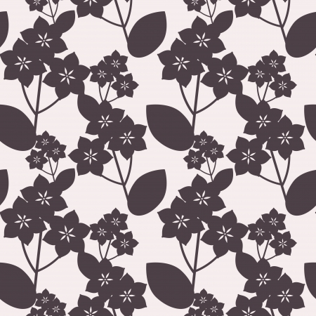 Floral pattern with decorative flowers Vector