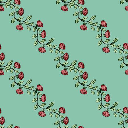 liane: Seamless pattern with decorative ornament Illustration