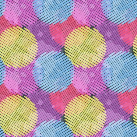 Modelo incons�til con el c�rculo multicolor