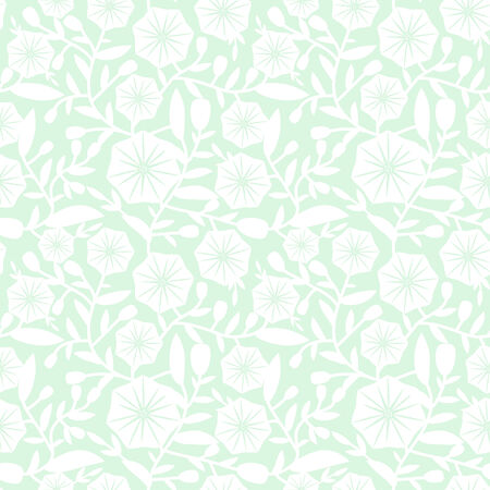 convolvulus: Seamless pattern with decorative bindweed