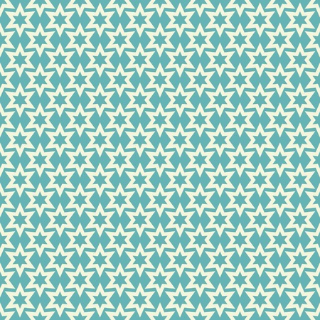 Seamless pattern with abstract stars Vector