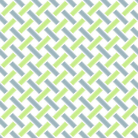 weaving: Seamless pattern with abstract weaving Illustration