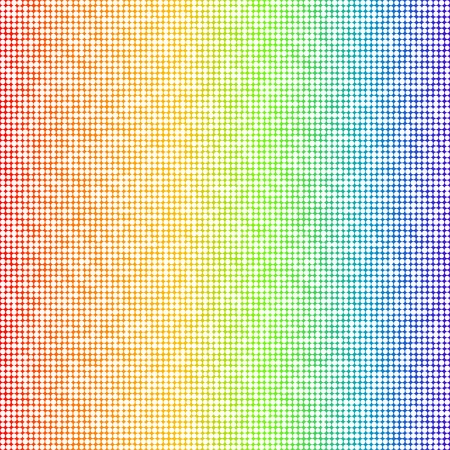 multicolored: Multicolored background with dots pattern
