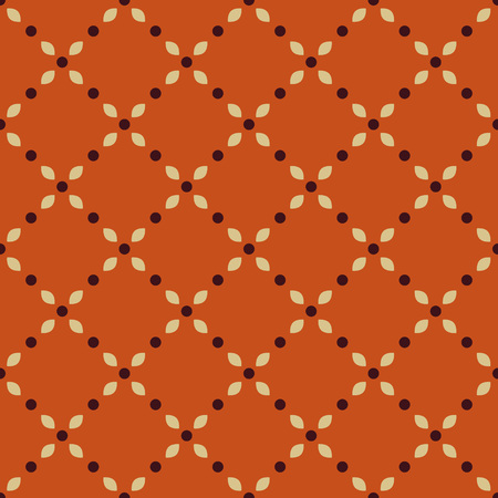 circles pattern: Seamless pattern with decorative ornament Illustration