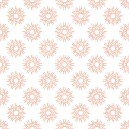 patten: Seamless patten with decorative ornament Illustration