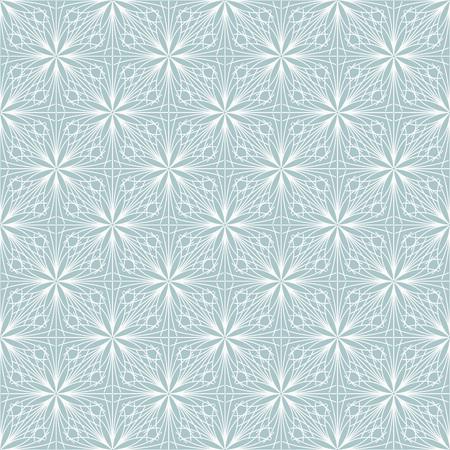 Patrón transparente de vector azul y blanco