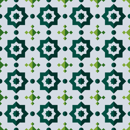 Semless pattern with abstract ornament