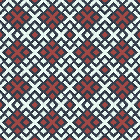 Seamless patterns with geometric ornament