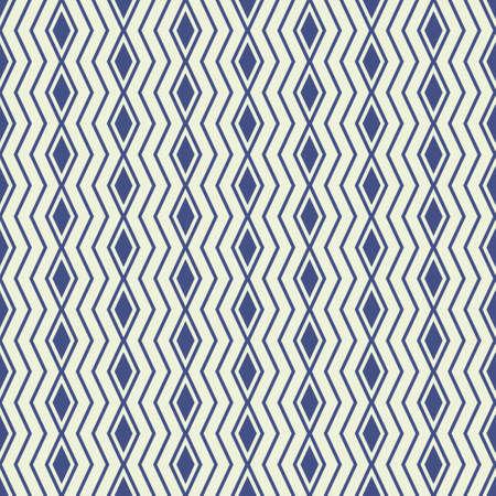 Seamless geometric rhombus and zigzag