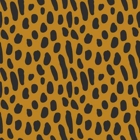 Animal vector print seamless pattern