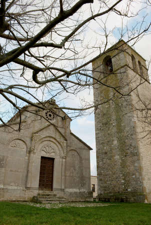molise: Medieval church of Santa Maria della Strada (molise, center Italy)