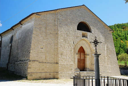 molise: Ancient Church of Faifoli in molise (center Italy)