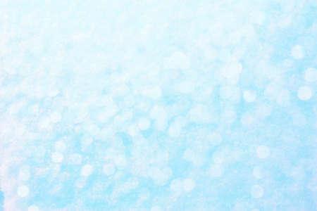 snowy texture glitter bokeh macro photography background