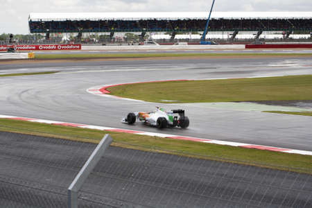 bolid: f1 force india Editorial