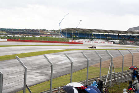 bolid: f1 silverstone, seat view