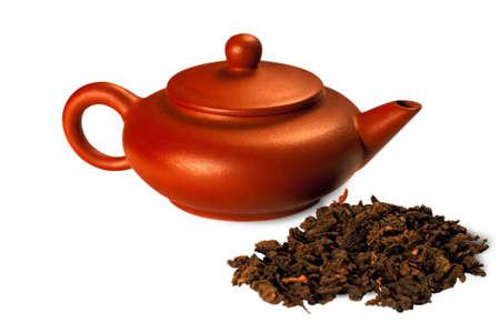 oolong: oolong tea Dongding Stock Photo